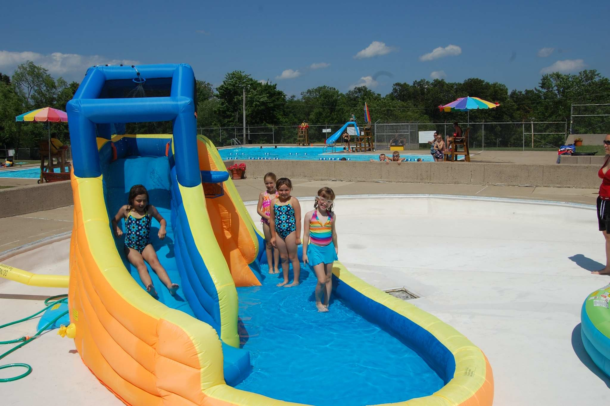 Grant transforms outdated kiddie pool into fun kiddie for Kids swimming pool